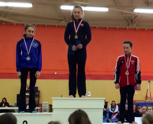 Caitlin Campbell, Reanna Rinco, Kate Campbell- Provincials