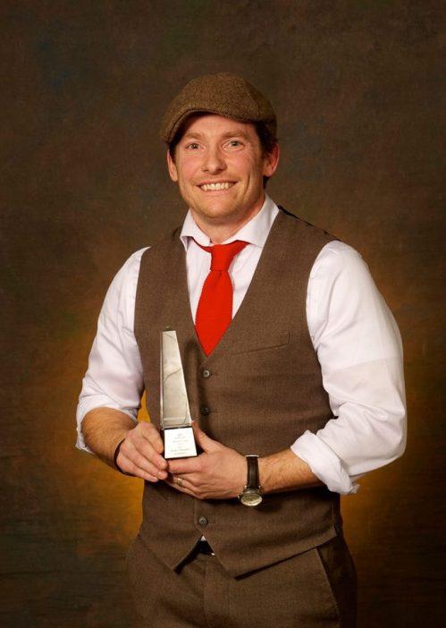 Scott Chandler- Sport PEI 2015 Inspiration Award