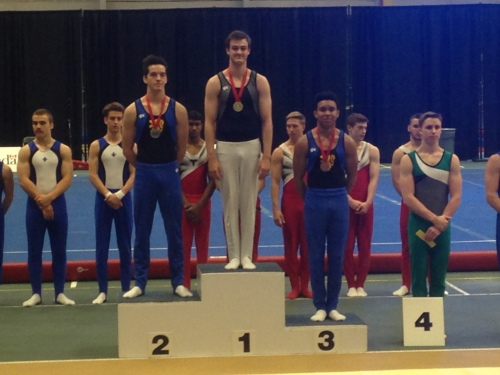 Matt Gallant- National Pommel Horse Champion